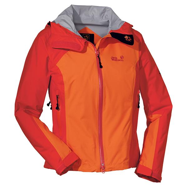 JACK WOLFSKIN WOMEN ACCELERATE XT JACKET DARK ORANGE