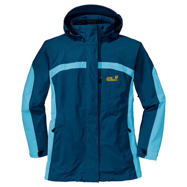 JACK WOLFSKIN WOMEN PALLADIUM JACKET ENSIGN BLUE