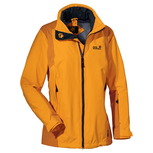 JACK WOLFSKIN WOMEN RADIUS JACKET GOLDEN GLOW