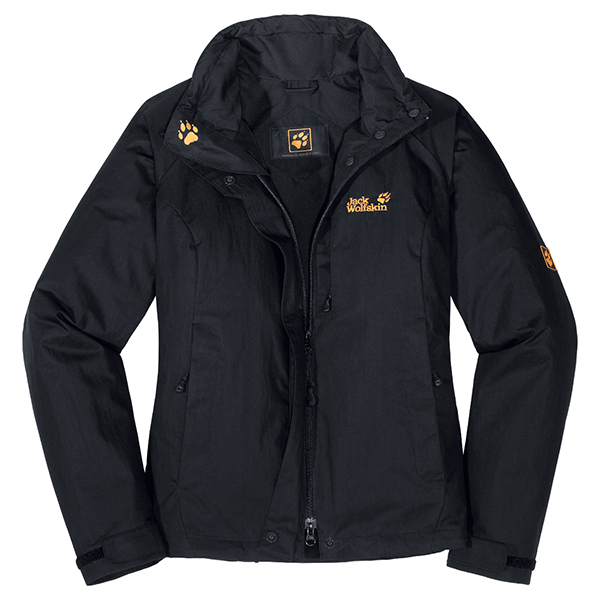 JACK WOLFSKIN WOMEN VIDDA JACKET BLACK