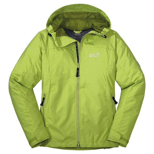 JACK WOLFSKIN WOMEN VORTEX JACKET GOLDEN GREEN