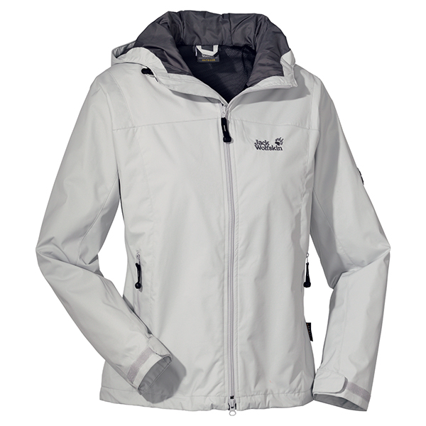 JACK WOLFSKIN WOMEN VORTEX JACKET GREY HAZE