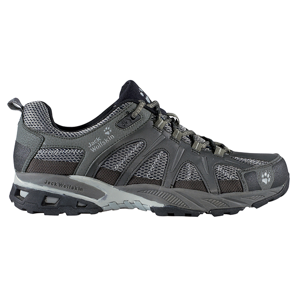JACK WOLFSKIN MEN MOUNTAIN RUNWAY STEEL GREY