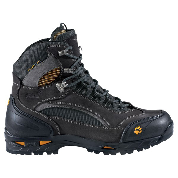 JACK WOLFSKIN MEN ARCADE ROCK TEXAPORE SHADOW BLACK