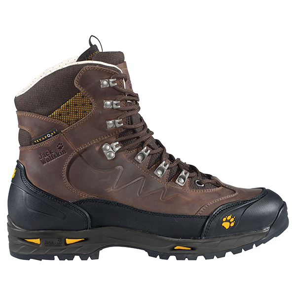 JACK WOLFSKIN MEN DEVIATOR TEXAPORE DARK BROWN