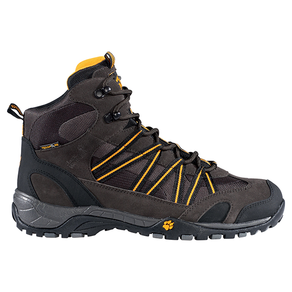 JACK WOLFSKIN MEN CROSSHIKE MID TEXAPORE SHADOW BLACK