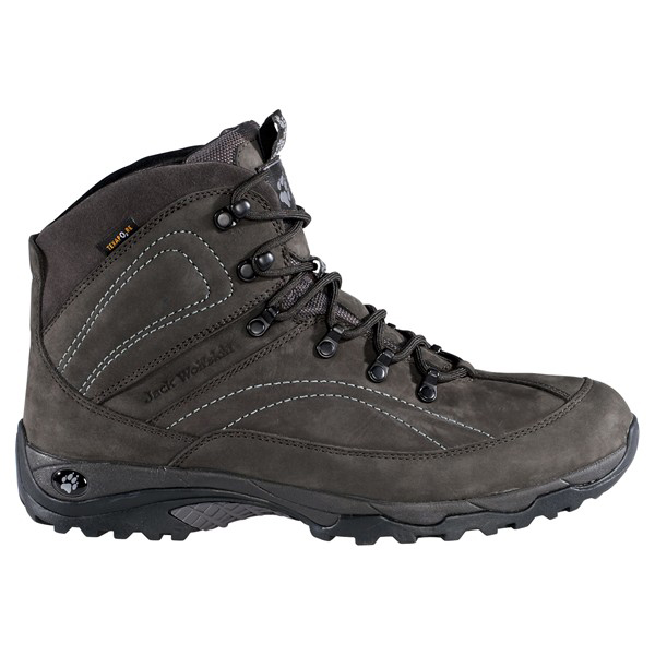 JACK WOLFSKIN MEN MELLOW PEAK MID TEXAPORE SHADOW BLACK