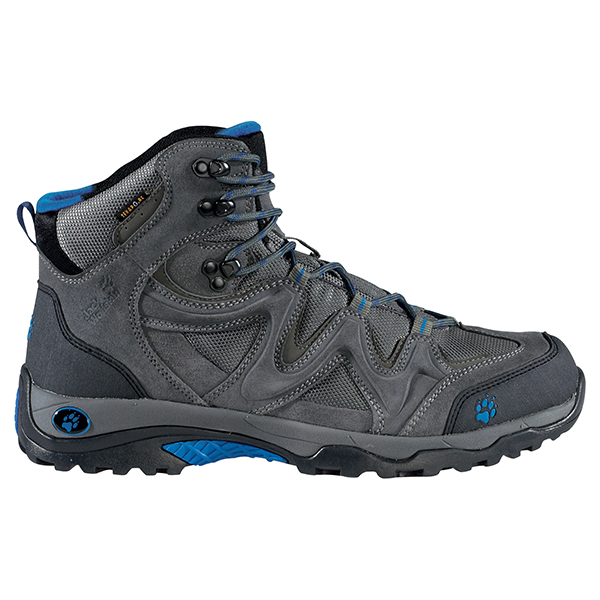 JACK WOLFSKIN MEN TRAIL MASTER TEXAPORE TARMAC GREY