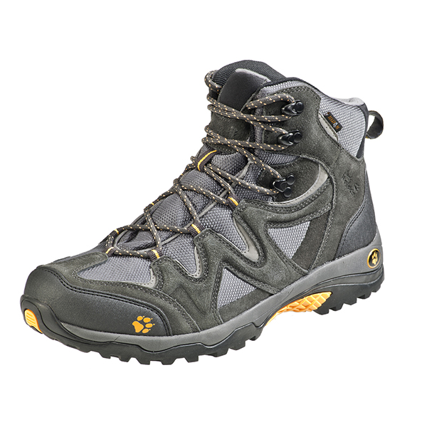JACK WOLFSKIN MEN TRAIL MASTER TEXAPORE SHADOW BLACK