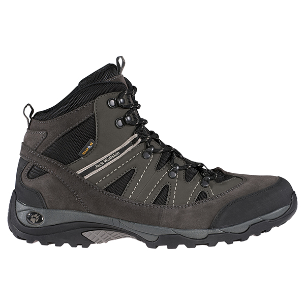 JACK WOLFSKIN MEN TRAILRIDER TEXAPORE SHADOW BLACK