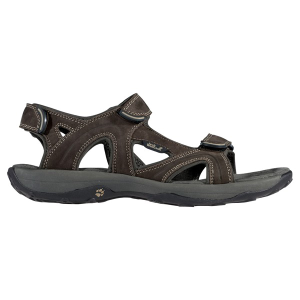 JACK WOLFSKIN MEN REDWOOD SANDAL MOCCA
