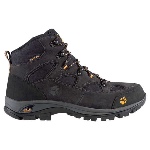 JACK WOLFSKIN MEN ALL TERRAIN TEXAPORE NEARLY BLACK