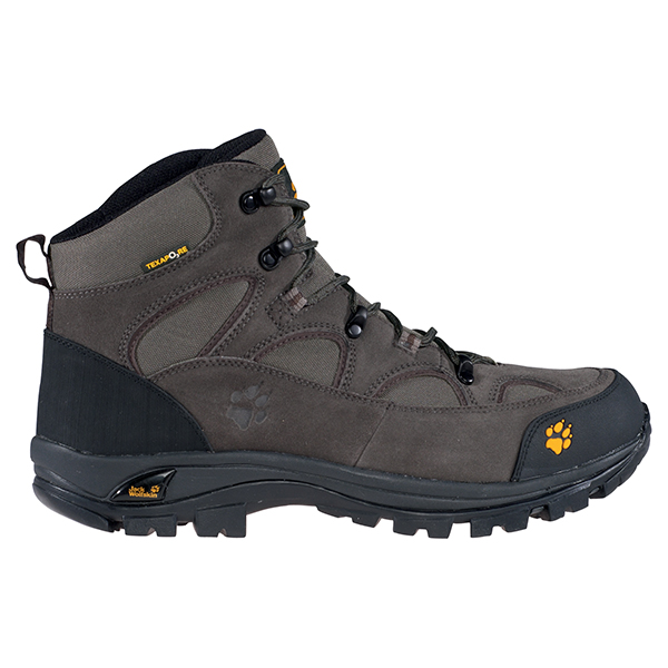 JACK WOLFSKIN MEN ALL TERRAIN TEXAPORE DARK STONE