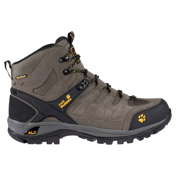 JACK WOLFSKIN MEN ESCALADE MID TEXAPORE STEEL GREY