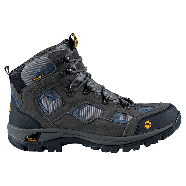 JACK WOLFSKIN MEN RUGGED TRAIL TEXAPORE TARMAC GREY