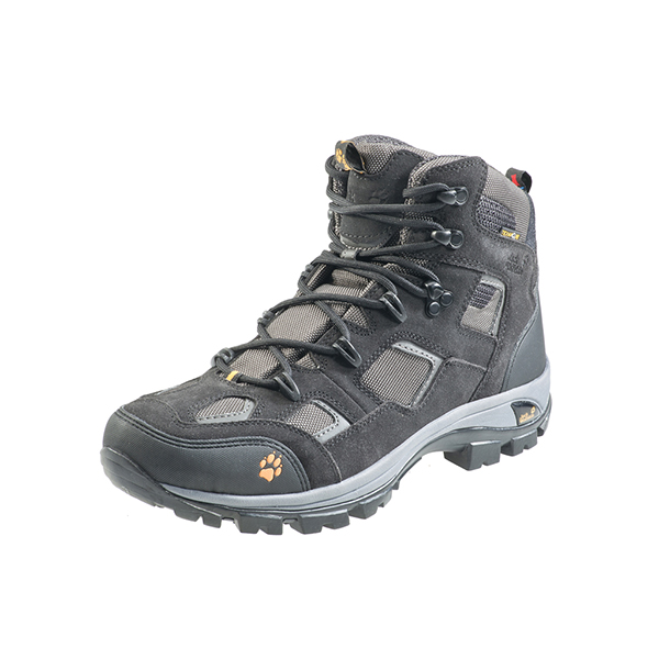 JACK WOLFSKIN MEN RUGGED TRAIL TEXAPORE NEARLY BLACK