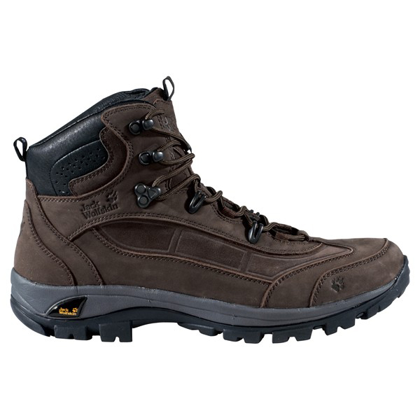 JACK WOLFSKIN MEN SIERRA TRAIL DARK BROWN