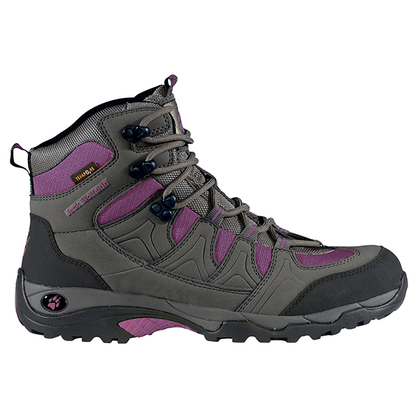 JACK WOLFSKIN WOMEN TRACTION MID TEXAPORE PURPLE DAWN