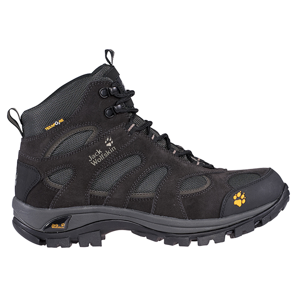 JACK WOLFSKIN WOMEN ALL TERRAIN TEXAPORE NEARLY BLACK